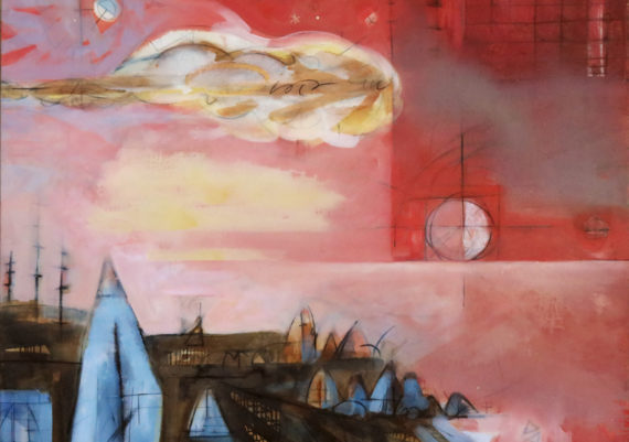 Troposphere No. 7—Vermilion Sky